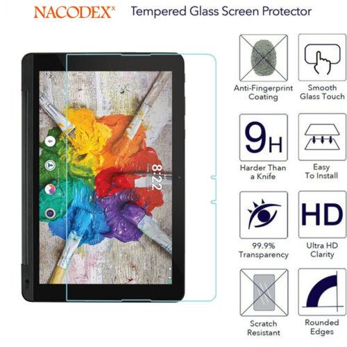 Nacodex Tempered Glass Screen Protector For LG G Pad X2 LG G Pad3 10.0 V755
