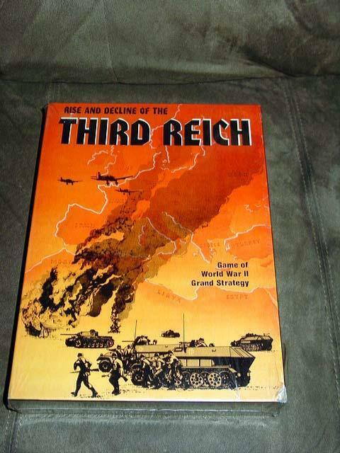 Avalon Hill 1974 - Rise and Decline of the THIRD REICH - 1st Edtion  SEALED