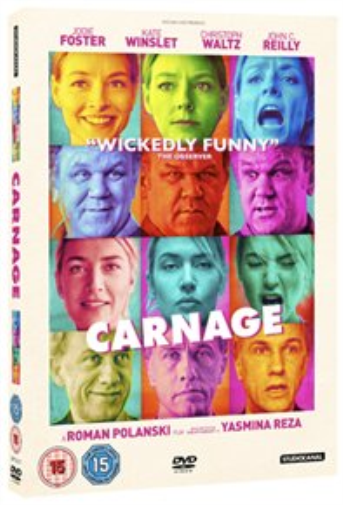 Jodie Foster, Kate Winslet-Carnage  DVD NEW
