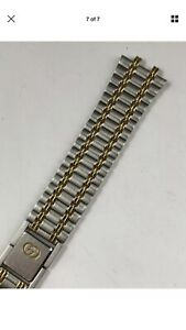 b5dc920d3c5 Image is loading New-Authentic-Gucci-9000M-Gold-Steel-Replacement-Watch-