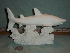 Shark Ceramic Bisque U-Paint Ready To Paint Fishing Fishes Sharks