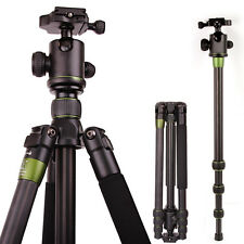 SYS500C Carbon Fiber Tripod Monopod BallHead Travel for DSLR Nikon Canon Camera