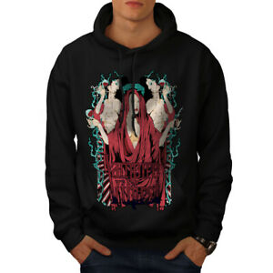 Wellcoda-Vampire-soif-Hot-Sexy-Sweat-a-capuche-goth-Casual-Sweat-a-capuche