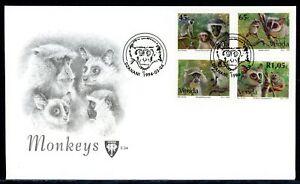 Venda MiNr. 270-73 Ersttagsbriefe/ FDC Affen (Q11302