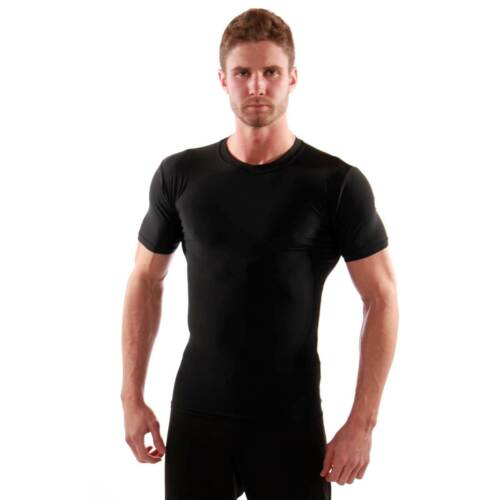hot weather gear with sun protection /& moisture management GO Compression Shirt