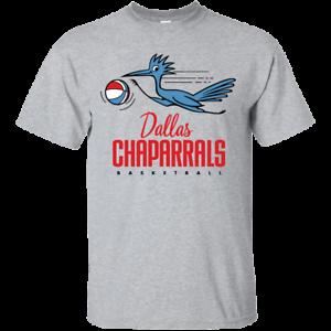 Thr 70/'s ABA Dallas Chaparrals Basketball Jersey Logo 1970/'s Retro Texas
