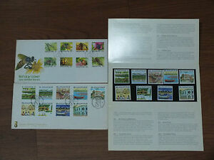 Singapore-Definitives-Stamps-FDC-n-Presentation-packs