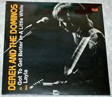 """Derek And The Dominos - Layla / Got To Get A Life - Sealed RSD 2011 7"""" Single"""
