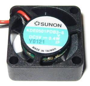 Sunon-20-mm-Fan-5-V-DC-Fan-KDE0501-1-2-CFM-9000-RPM-8-mm-Thick