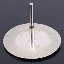 10pcs 50mm Diamond Cutting Discs  &   Drill Bit For Rotary Tool Dremel Glass Met