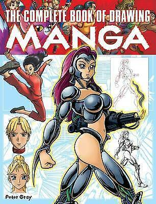 1 of 1 - The Complete Book of Drawing Manga, Peter Gray, Used; Good Book
