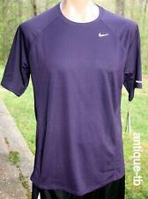 Nike Mens Miler Dri-Fit Running Shirt 744710-687