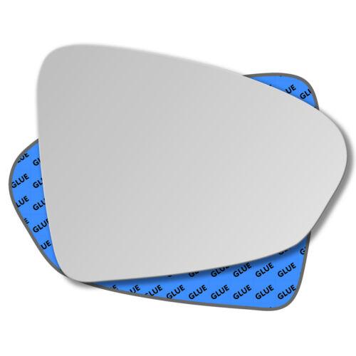 Rechts Beifahrerseite Spiegelglas Außenspiegel für Fiat Tipo 2015-2019