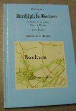 Johann Peter LENTZEN Geschichte des Kirchspiels Bockum mit Traar NACHDRUCK 2002