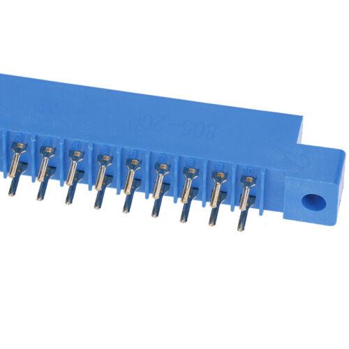 1Pcs 805 Series 3.96mm Pitch PCB Slot Solder Card Edge Connector 8-72 /_CHRDR