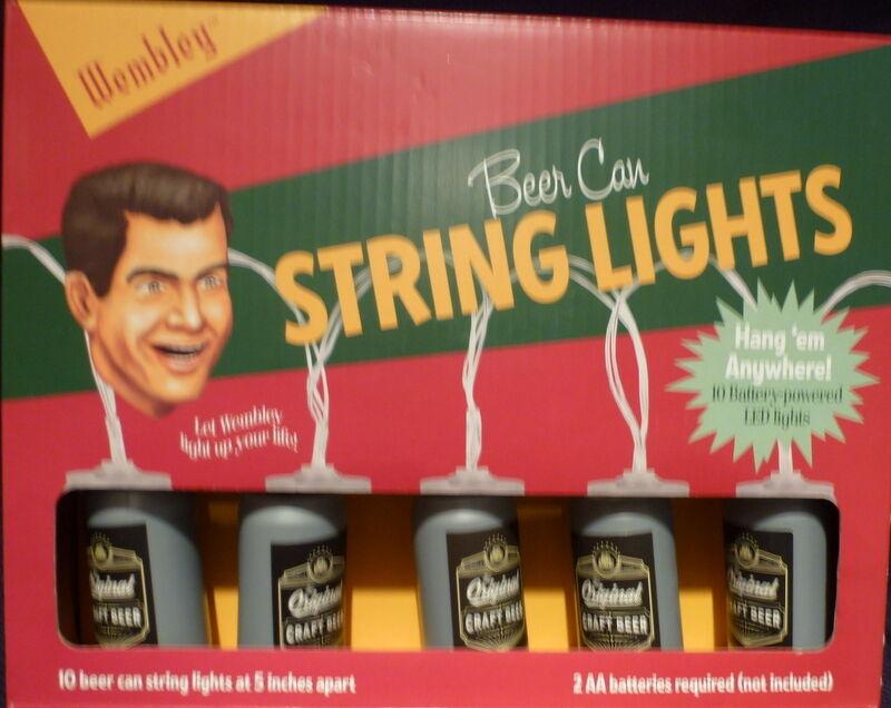 Led Beer Can String Lights