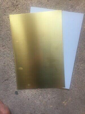 Aluminium Platten 15mm feingefräst 5083 beids foliert   Wunschzuschnitte