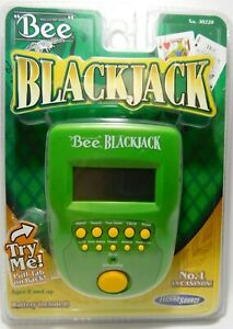 Bee-Blackjack-Handheld-Video-Game-Brand-New-amp-Sealed-No-1-in-Casinos