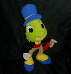 Ancien jouet en bois Disney Pinocchio jiminy cricket vintage