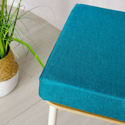 Square Thick Chair Seat Pad Cushion Indoor Outdoor Non-Slip Sponge Seat Pads