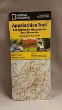 National Geographic Trails Illustrated Map: Appalachian Trail, Schaghticoke Mountain to East Mountain [Connecticut, Massachusetts] by National Geographic Maps - Trails Illustrated (2015)