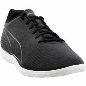 Puma-One-19-4-Indoor-Training-Casual-Soccer-Cleats-Black-Mens
