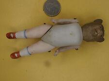 Antique Dolls German animal bear  doll dollhouse  Katzhütte / Limbach 1900