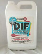 ZINSSER DIF Gel Wallpaper Stripper Ready to Use-Roll 1 gal. Brush or Spray On