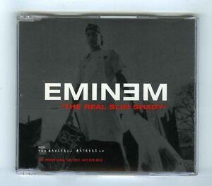 2-TRACK-PROMO-MAXI-CD-SINGLE-EMINEM-THE-REAL-SLIM-SHADY