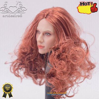 "1//6 Scarlett Johansson Black Widow Blond Hair Head Sculpt F 12/"" PH Figure Body"