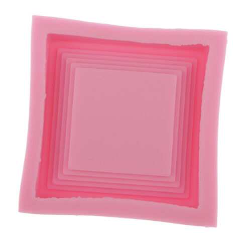 Coaster Silicone Mould,Square Tray DIY Epoxy Resin Mold for Casting Crafting
