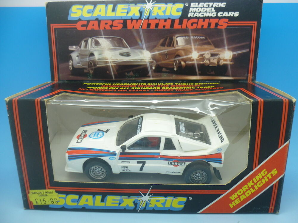 Scalextric C144 Martini Lancia with lights