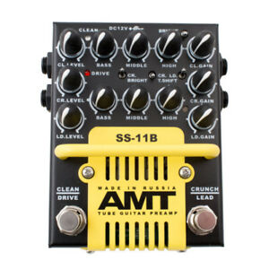 AMT-ELECTRONICS-TUBE-GUITAR-PREAMP-SS-11B-modern-MORE-DISTORTION-than-SS-11A