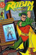 ROBIN II   # 3  - COMIC - 1991  -  9.6 - HOLO