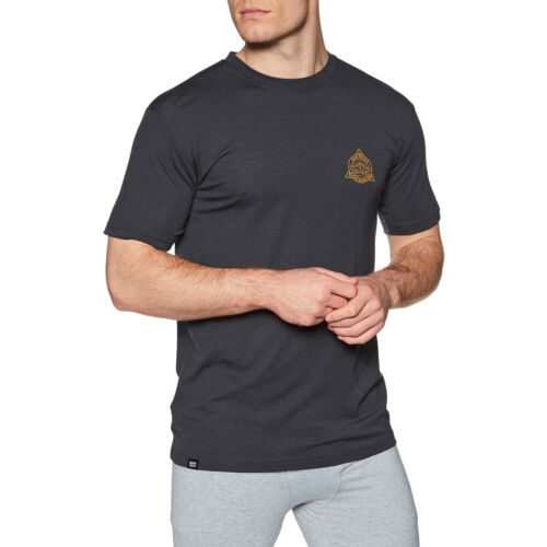 9 Iron All Sizes Mons Royale Icon Short Sleeve Mens Base Layer Top