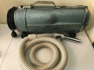 Vintage-Electrolux-Canister-Vacuum-Cleaner-with-Hose-Model-E-Works