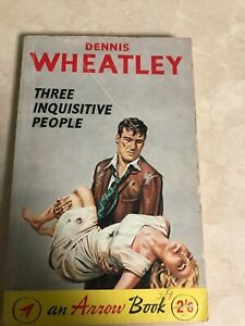 Dennis-Wheatley-Three-Inquisitive-People-1960