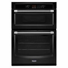 "Maytag MMW7730DE 30"" Black Microwave-Oven Combo Wall Oven Brand New"