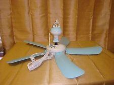 Item 4 110V 27 PORTABLE 5 BLADE HANGING MINI CEILING FAN EASY HANG POWER W AC PLUG