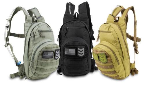 3V GEAR BANDIT HYDRATION BACK PACK DAY BAG ADJUSTABLE MOLLE EXCLUDING BLADDER