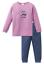 Schiesser Fille Pyjama Pyjama Long chien 104 116 128 140 Lingerie de nuit