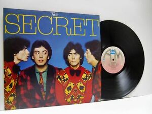 THE-SECRET-self-titled-1st-uk-press-LP-EX-EX-AMLH-68504-vinyl-album-amp-inner