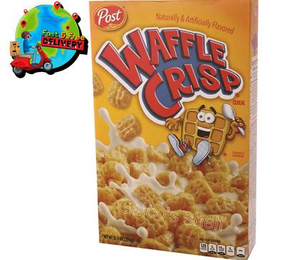 Waffle /& Syrup Flavor Kosher 11.05oz 326gr Waffle Crisp Cereal POST