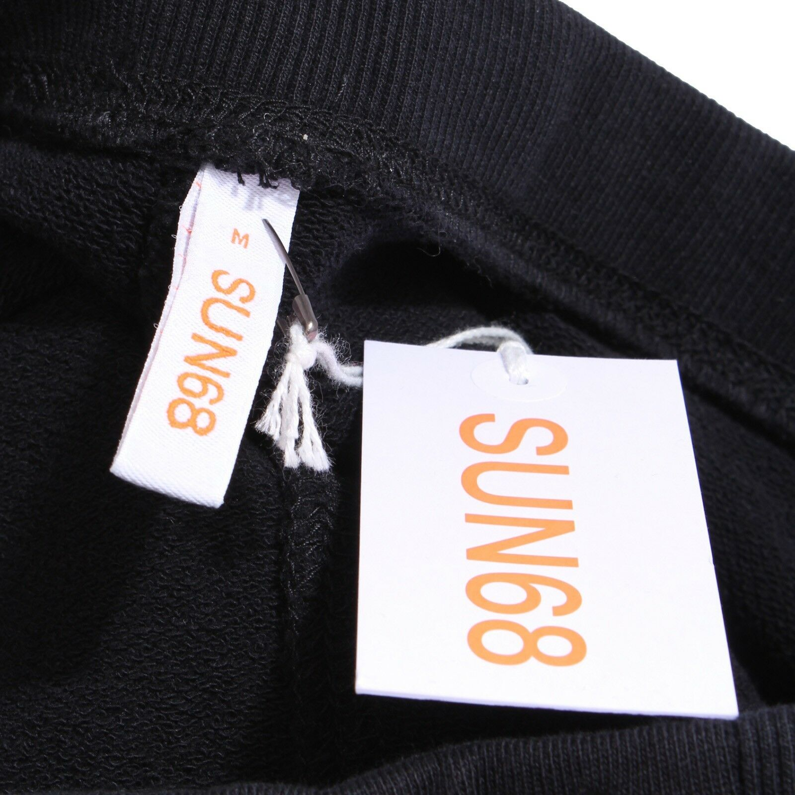 6915Y pantalone tuta damen schwarz SUN 68 cotton sweat sweat sweat pant woman c294ba