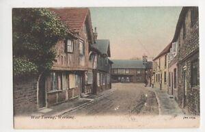 Sussex-West-Tarring-Worthing-J-Welch-Postcard-B134
