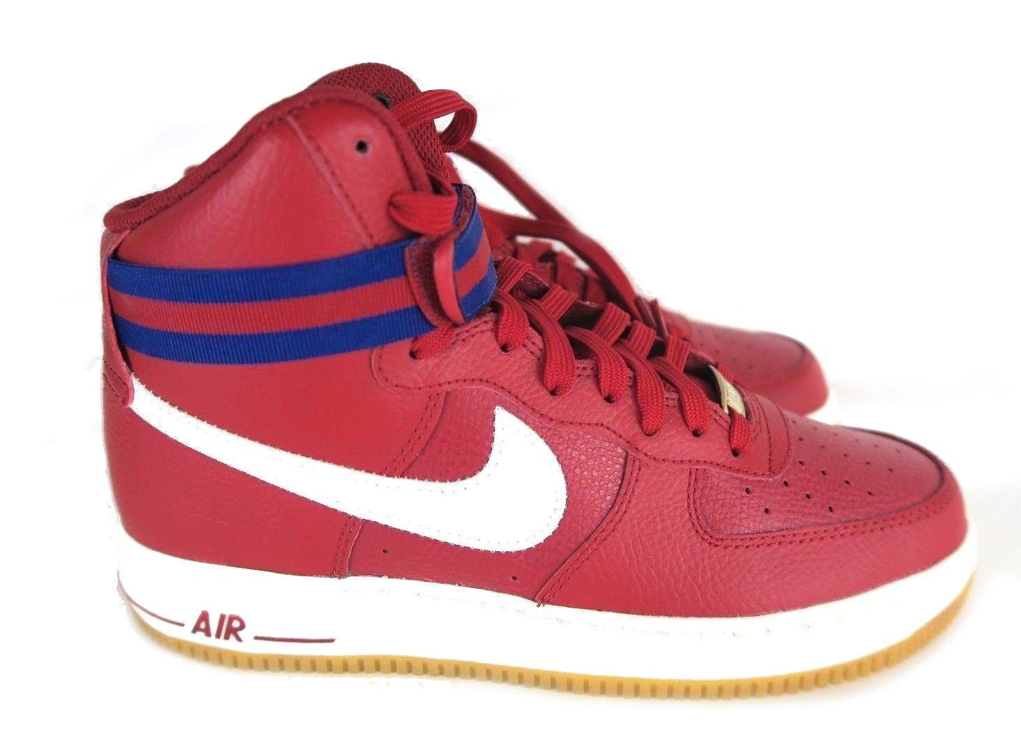 Nike air force di alto 2007 palestra red royal vela gomma Uomo 315121-605 misura di scarpe