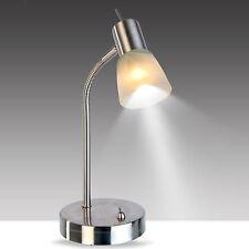 LED Tischlampe Halogen Kinder Schreibtischlampe Halter Schalter f. E14 Lampe NEU