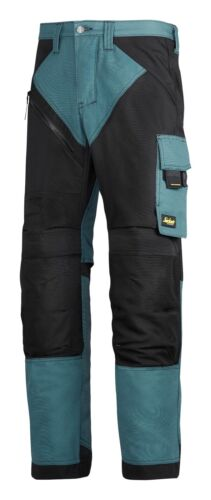 Snickers Pantalones 6303 Ruffwork no Funda Pantalones para hombre Gasolina Azul Directo