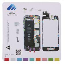 iPhone 5 Magnetic Screw Chart Mat Repair Professional Guide Pad Tools USA Seller