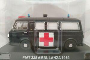1-43-FIAT-238-1969-AMBULANCIA-MILITAR-IXO-ALTAYA-ESCALA-SCALE-DIECAST